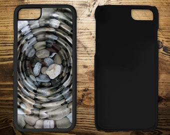 Ripples in water, iPhone 7 case, iPhone case, iPhone 7 plus, iPhone 6/6s, iPhone 5c, iPhone 5/5s, iPhone 4/4s,