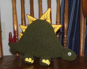 Crochet Dinosaur, Stuffed Toy, Stuffed Animal, Crochet Toy, Crochet Animal, Dinosaur, Toy