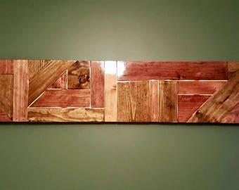 Glowing Wood Art Wall Art