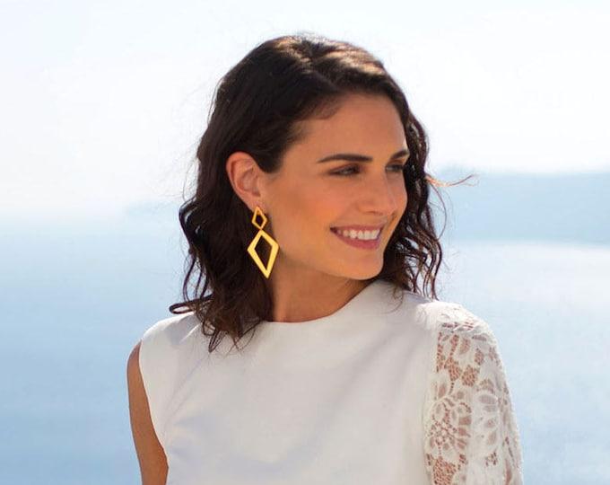 Double Rombus Earrings