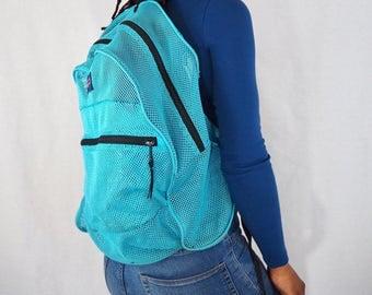 90s Mesh Jansport Backpack