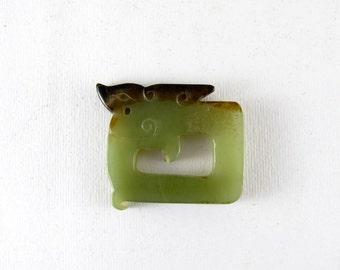 Chinese dragon - jade pendant
