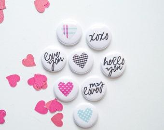 Valentine No.2 - Mini Flair Set - Project Life - Scrapbooking - Card Making