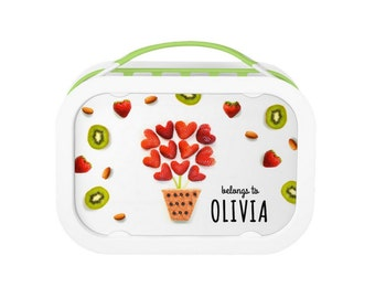 Strawberry Bouquet - Personalized Lunchbox