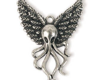 Winged Kraken Pendant (STEAM181)