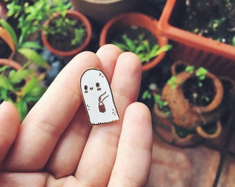 Ghost Buddy Pin