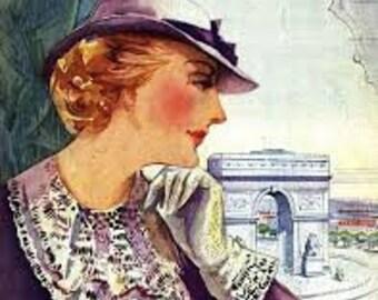 Paris Sponsors Crochet -- Vintage Patterns for 1930s Hats, Gloves, Belts and Collars (Book 66)
