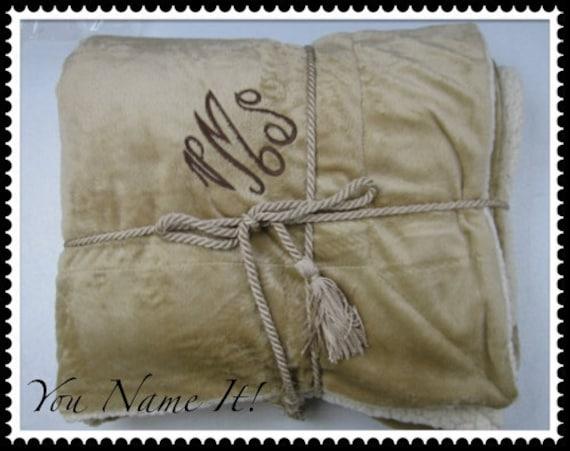 Fleece Micro Mink Sherpa Blanket
