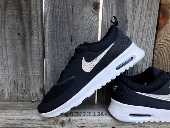 e11c0f61ddaf Swarovski Nike Shoes Bling Nike Air Max Thea by THEBASICBEESHOP durable  service
