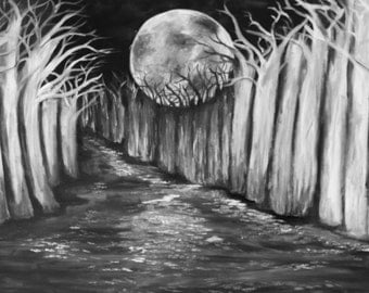 The Woods - Original Painting