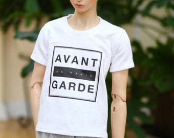 BJD SD17 Avant Garde T Shirt - White