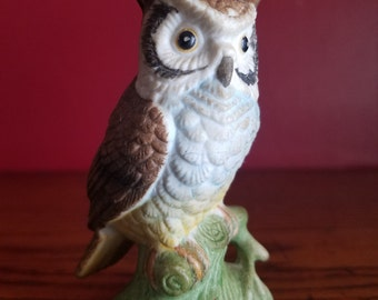 Owl Figurine- vintage