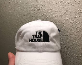 The Trap House Embroidered Dad Hat Strapback Cap