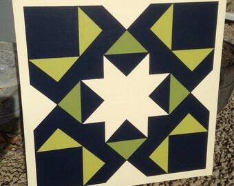 White Star Barn Quilt