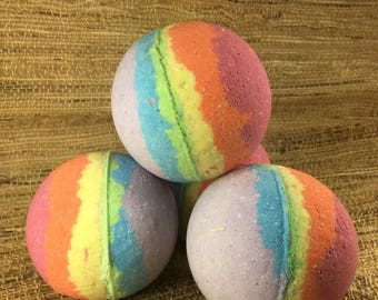 40% OFF CLEARANCE SALE Charity Product-Lavender Lemon Pride Bath Bombs-Lgbtq-Vitamin E