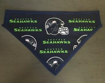 Seattle Sea Hawks Dog Scarf