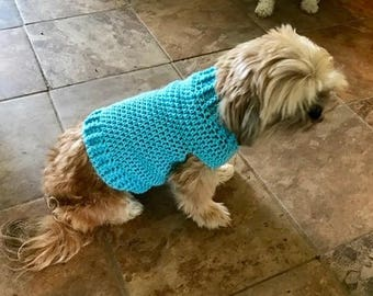 Izzy's Cuddly Dog Sweater