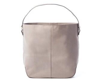 Gray Tote Bag, Gray Bag, Grey Tote, Grey Tote Bag