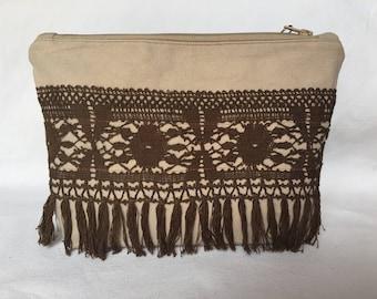 Kit large size - Upcycling - Crochet and fringe