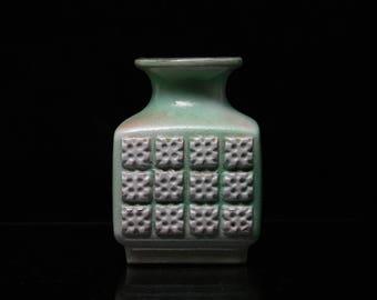 VEB Haldensleben Vase Form 3059 East German Vintage Ceramic of the '70 Form 3084