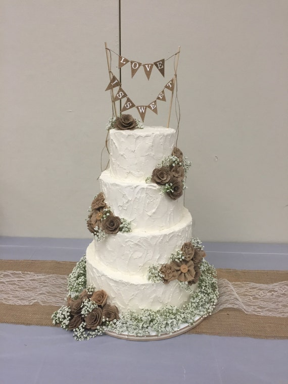 faux wedding cakes uk four tier faux rustic wedding cake 14215