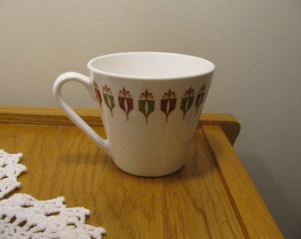 """Syralite """"Captain's Table"""" Mid-century Cup by Syracuse China"""