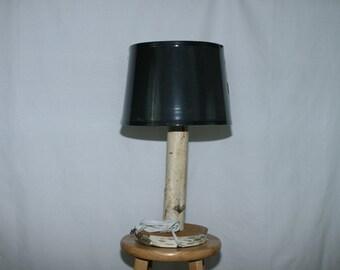 Birch Table Lamp