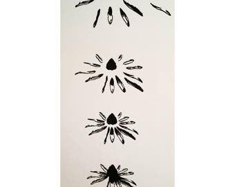 Blooming, Screen Print