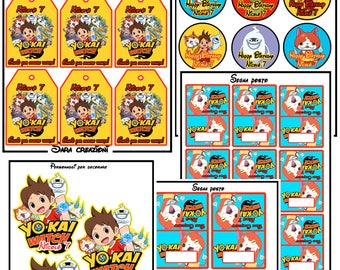 Party Kit YO KAI WATCH!