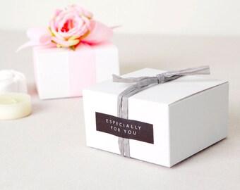 6 White mini box,white favor box,small box,white gift box,white soap box,plain gift box,gifts,favor container,wedding favor box,white