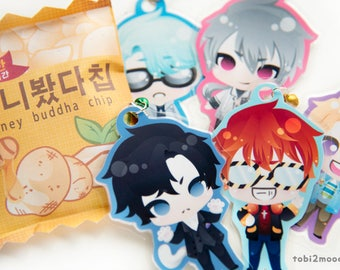 "One 3"" inch Mystic Messenger Laminated Charm 