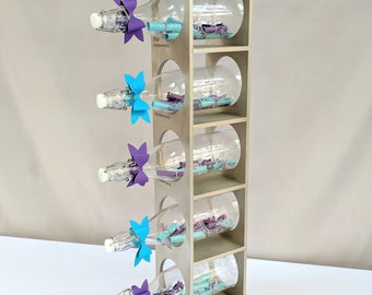 Wedding Guest Gift Message : Message in Bottle Guest Book // wedding guest book / anniversary gift ...
