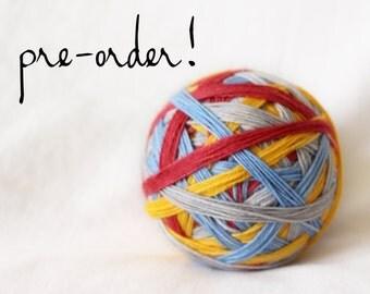 PRE-ORDER - Yukon Cornelius - Self-Striping - Nuthatch - 75/25 superwash merino/ nylon sock yarn