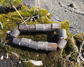 Wood bracelet Wooden bangle Tribal bracelet Wooden jewelry  Nature bracelet Wooden bracelets Bracelets for women