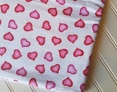 Marcus-Brothers-Fabric-By-The-Yard-Pink-Red-Hearts-Valentines-Day-Cotton-Flannel-Quilt-Fat-Quarter-Sew-DIY-Projects-Crafts-Supplies