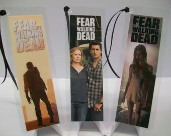 FEAR the WALKING DEAD - 3 Bookmark set …