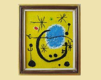 Miró. Abstract 1