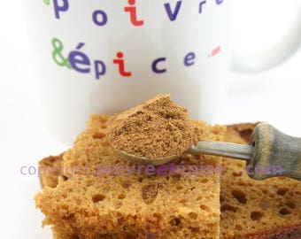 GINGERBREAD, mixted spice for french spice bread
