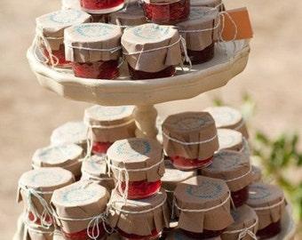 FREE SHIPPING 70 Favors, Organic Honey Favors, Greek Honey Favors, Baby Shower Wedding Favors,  Bridal Shower Favors, Unique Honey Favors
