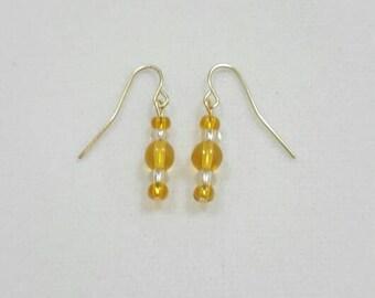 Lemon ice earrings