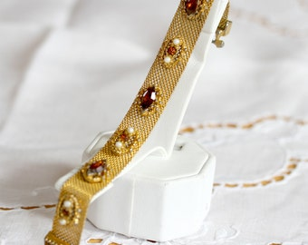Unbranded Vintage Gold plated bracelet Circa 1930's - very beautiful