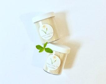 PEPPERMINT SPA SET | Peppermint Spa Gift | Peppermint Spa Kit | Mint Spa Kit | Mint Spa Set | Vegan Spa Set | Organic Scrub and Moisturizer