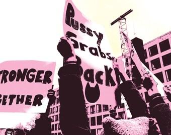 Women's March on Washington Postcard 4x6 Digital File