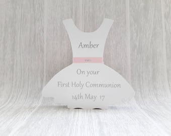 First Holy Communion freestanding dress