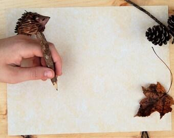 Hedgehog Forest Pencil