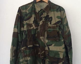 Army Camouflage Military Jacket Workshirt