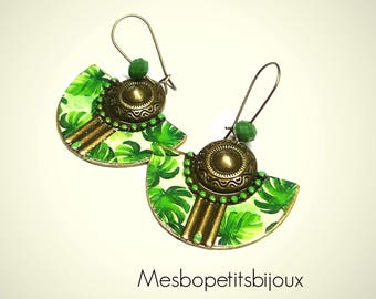original earrings monstera, collection spring summer