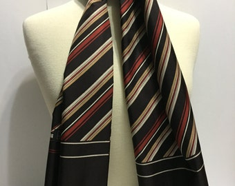 Lanvin Scarf - Vintage Fashion - Vintage Scarf - Retro Scarf - Long Scarf - Canada