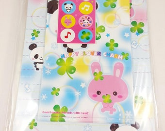 cute stationery set with bunny and Panda 12 leaves 5 envelopes + sticker stationary envelopes Japan letter set