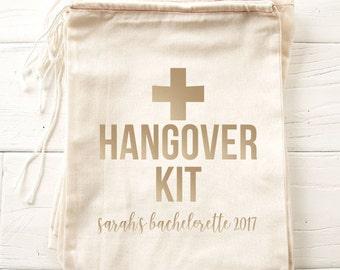 Hangover Kits, Bachelorette Party Favor, Hangover Kit Bags, Bachelorette Party, Bachelorette Bags, Hangover Emergency Kit